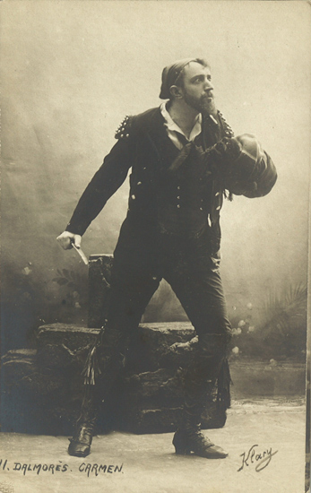 Charles Dalmorès as Don José (3), Théâtre Royal de la Monnaie, Brussels, 1905