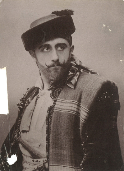 Charles Dalmorès as Don José (6), Théâtre Royal de la Monnaie, Brussels, 1905