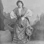 Emma Calvé as Carmen, Paris 1904