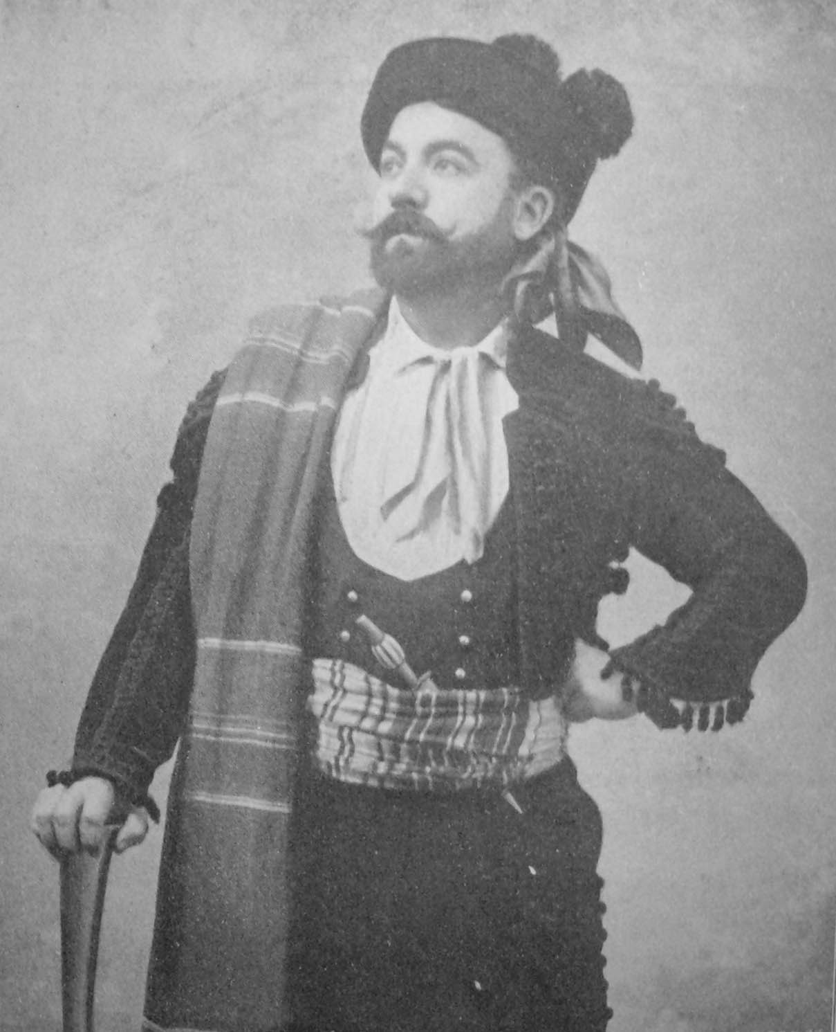 Georges Imbart de la Tour as Don José (2), Théâtre de la Monnaie, Brussels 1902