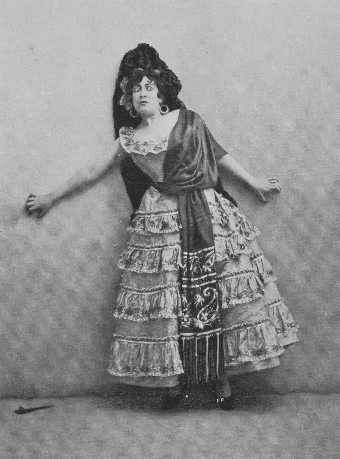 Georgette Leblanc as Carmen