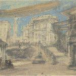 Act I Scenery, Théâtre Royal de la Monnaie, Brussels, 1876