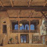 Act II - Posada - Gran teatre del Liceu, Barcelona, 1888