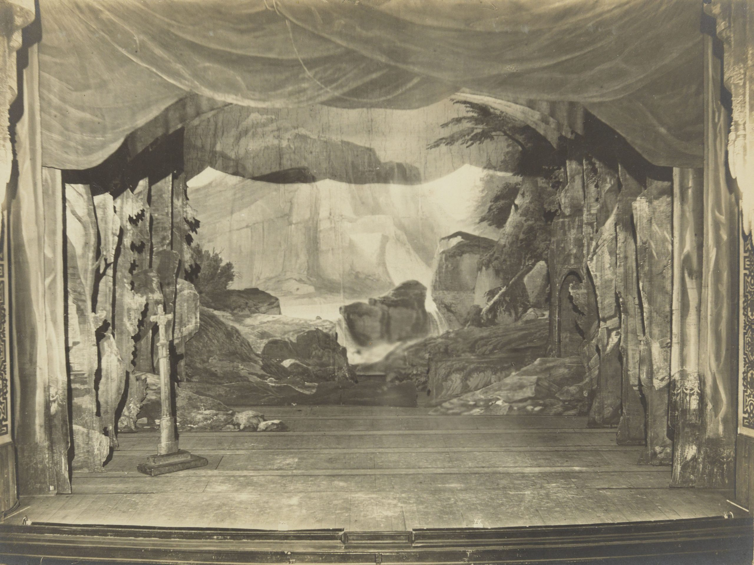 Acte III - Rochers-Site sauvage et pittoresque, Grand Théâtre, Ghent, 1877