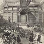 IV - L'entrée du cirque à Séville