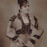 Célestine Galli-Marié as Carmen, Opéra-Comique, Paris, 1883