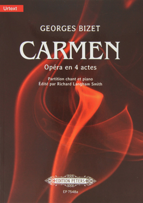 cover of the Peters Edition Urtext