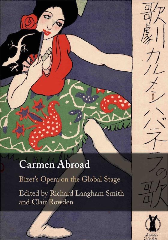 cover of the book Carmen Abroad (Cambridge Univ. Press)