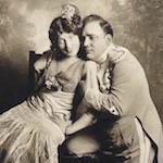 Géraldine Farrar as Carmen with Caruso as Don José, New York 1914 - (1)