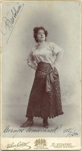 Vittorina Bartolucci as Carmen, from the archives of the Hungarian State Opera
