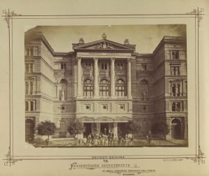 Hungarian National Theatre, 1875 (photo credit: Fortepan / Budapest City Archives / Photos of György Klösz)