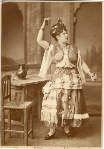 Katalin Náday as Carmen, 1876, from the archives of the Hungarian State Opera