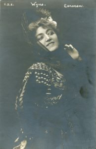 Charlotte Wyns as Carmen, from the archives of the Hungarian State Opera